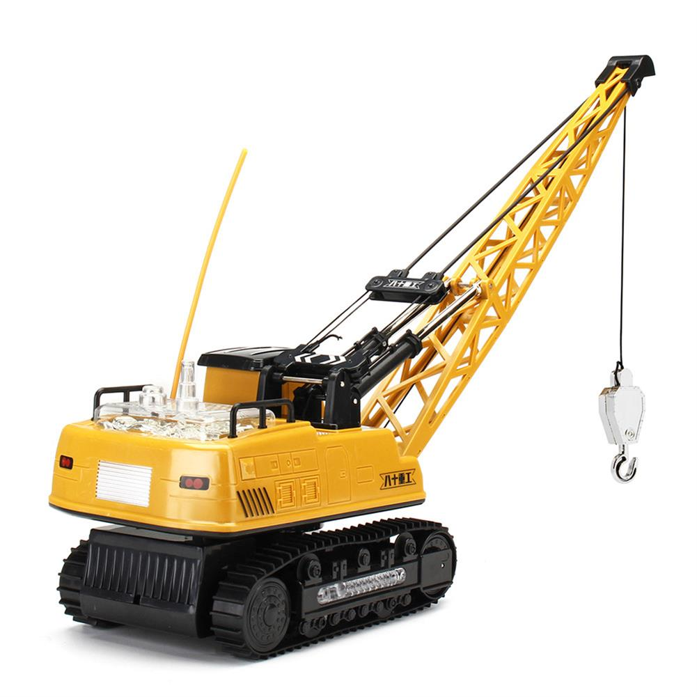 rc-cars Huina Toys 91115 1/14 2.4G 12CH Rc Tower Crane 680 Degree Rotation With LED Light Model Toys RC1412325 3