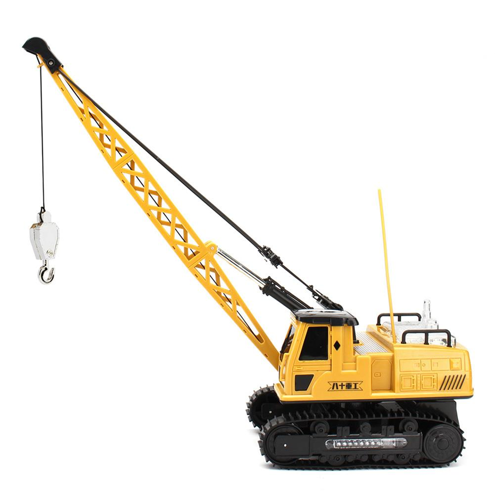 rc-cars Huina Toys 91115 1/14 2.4G 12CH Rc Tower Crane 680 Degree Rotation With LED Light Model Toys RC1412325 4