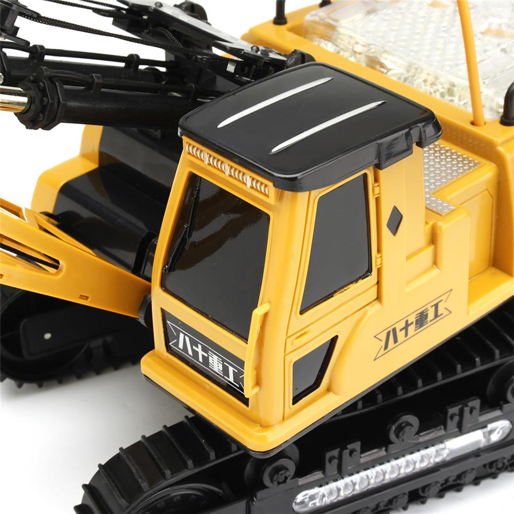 rc-cars Huina Toys 91115 1/14 2.4G 12CH Rc Tower Crane 680 Degree Rotation With LED Light Model Toys RC1412325 8