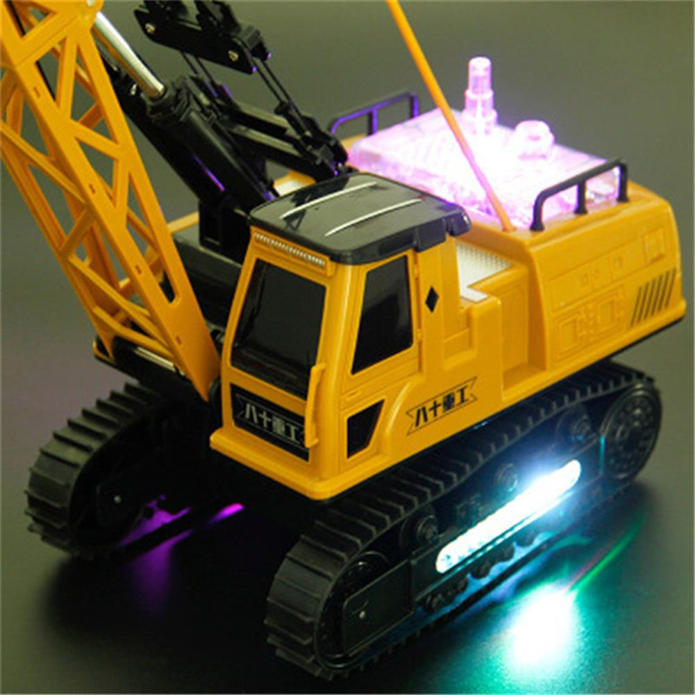 rc-cars Huina Toys 91115 1/14 2.4G 12CH Rc Tower Crane 680 Degree Rotation With LED Light Model Toys RC1412325 9