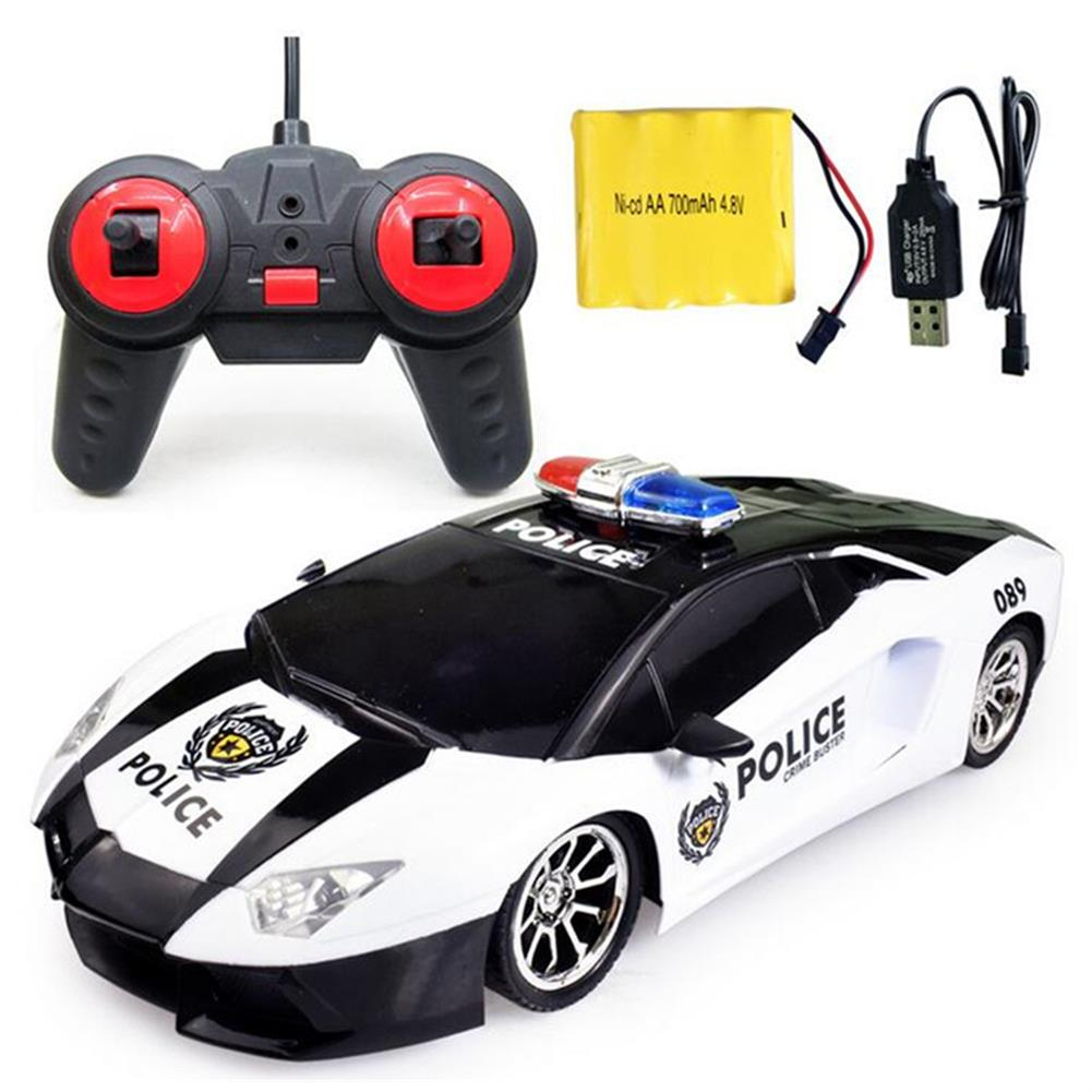 rc-cars Ye Jia Toys 266-5 1/12 Wireless 4CH Simulation Police Rc Car with Front LED Light Model RC1413615