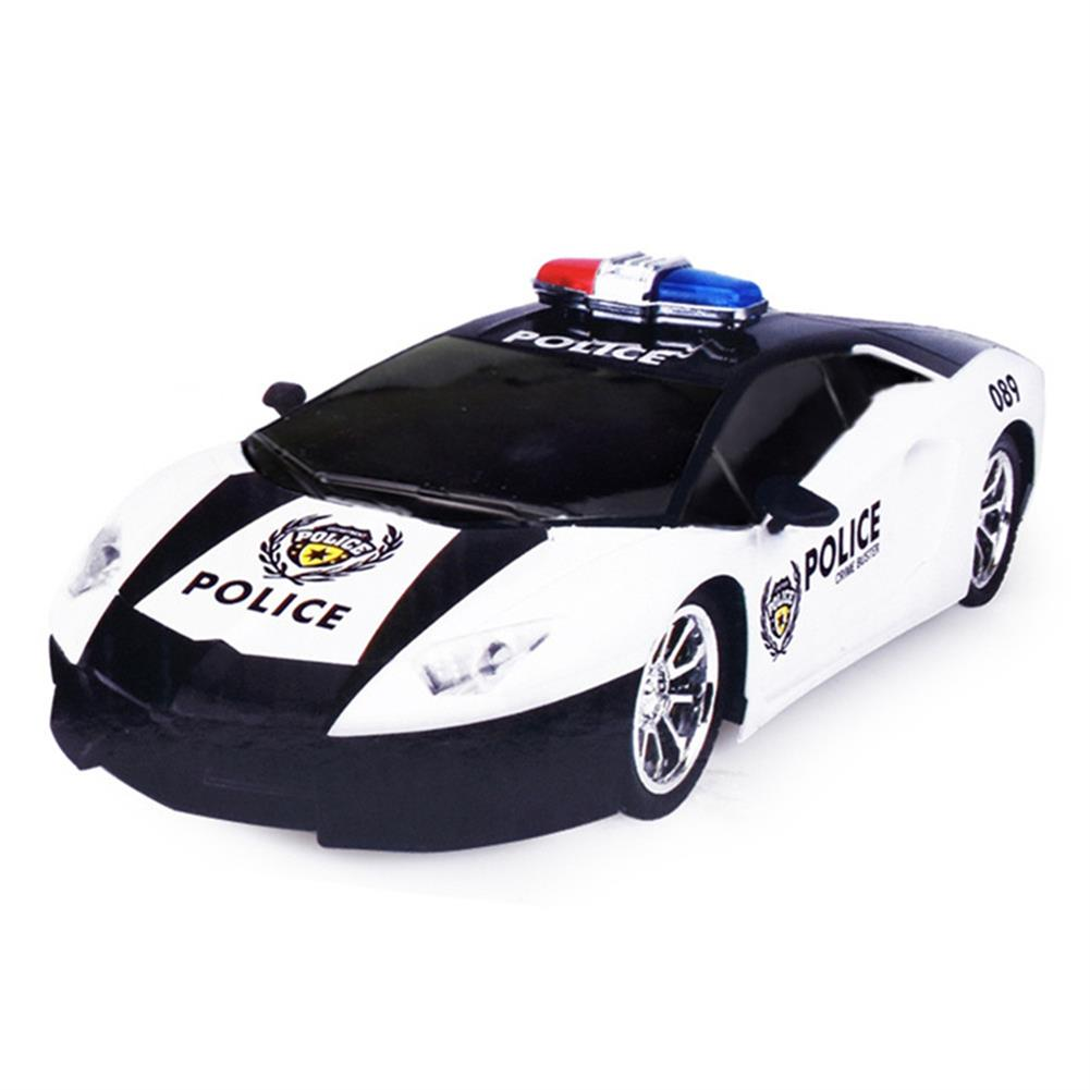 rc-cars Ye Jia Toys 266-5 1/12 Wireless 4CH Simulation Police Rc Car with Front LED Light Model RC1413615 1