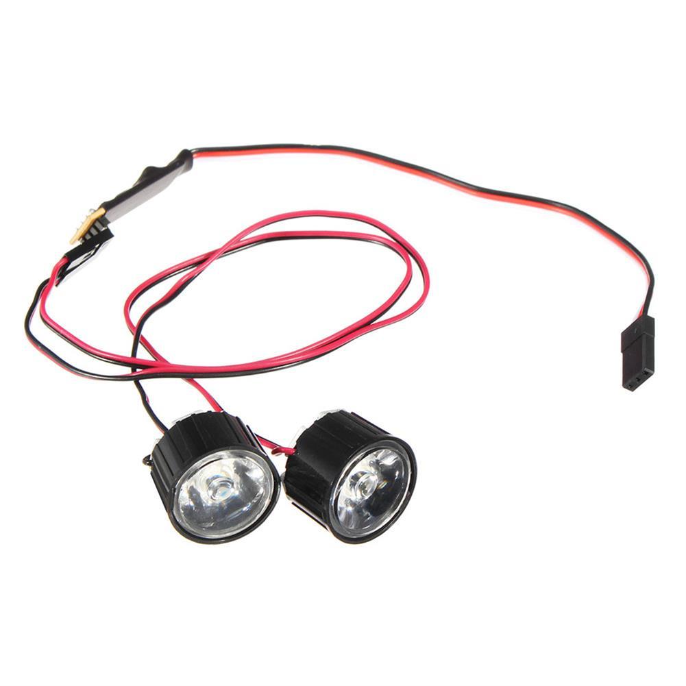 rc-car-parts 1 Pair LED Light Headlight Spotlight RC Car DIY for Traxxas Slash REVO E-REVO X-MAXX RC1414195
