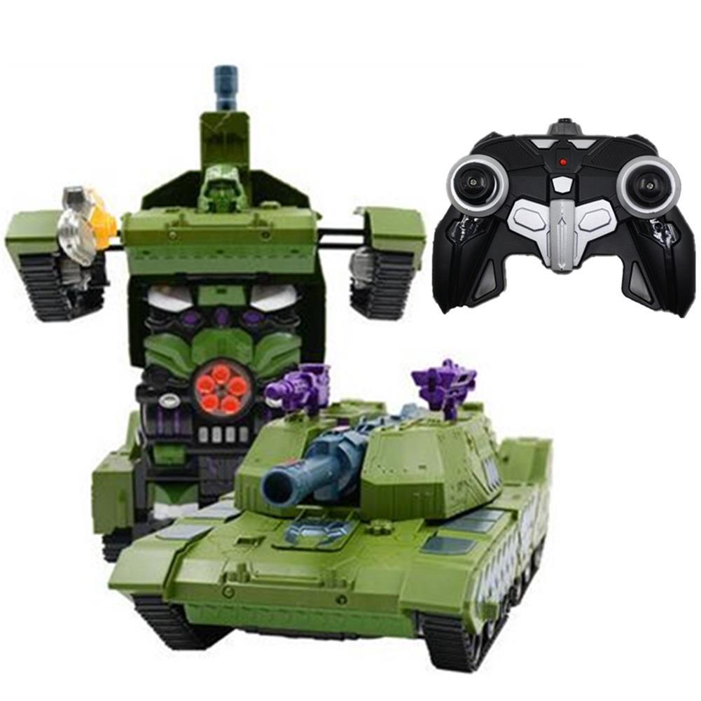 rc-tank MZ 1/14 2.4G Rc Car Deformation Battle Robot Tank 360 Degree Rotated Dancing Toys RC1414406 1