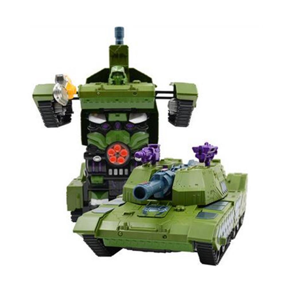 rc-tank MZ 1/14 2.4G Rc Car Deformation Battle Robot Tank 360 Degree Rotated Dancing Toys RC1414406 2