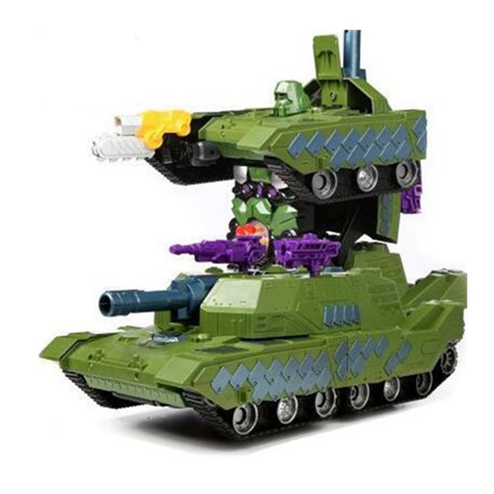 rc-tank MZ 1/14 2.4G Rc Car Deformation Battle Robot Tank 360 Degree Rotated Dancing Toys RC1414406 3