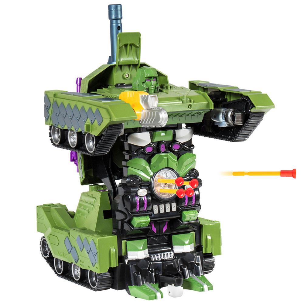 rc-tank MZ 1/14 2.4G Rc Car Deformation Battle Robot Tank 360 Degree Rotated Dancing Toys RC1414406 4