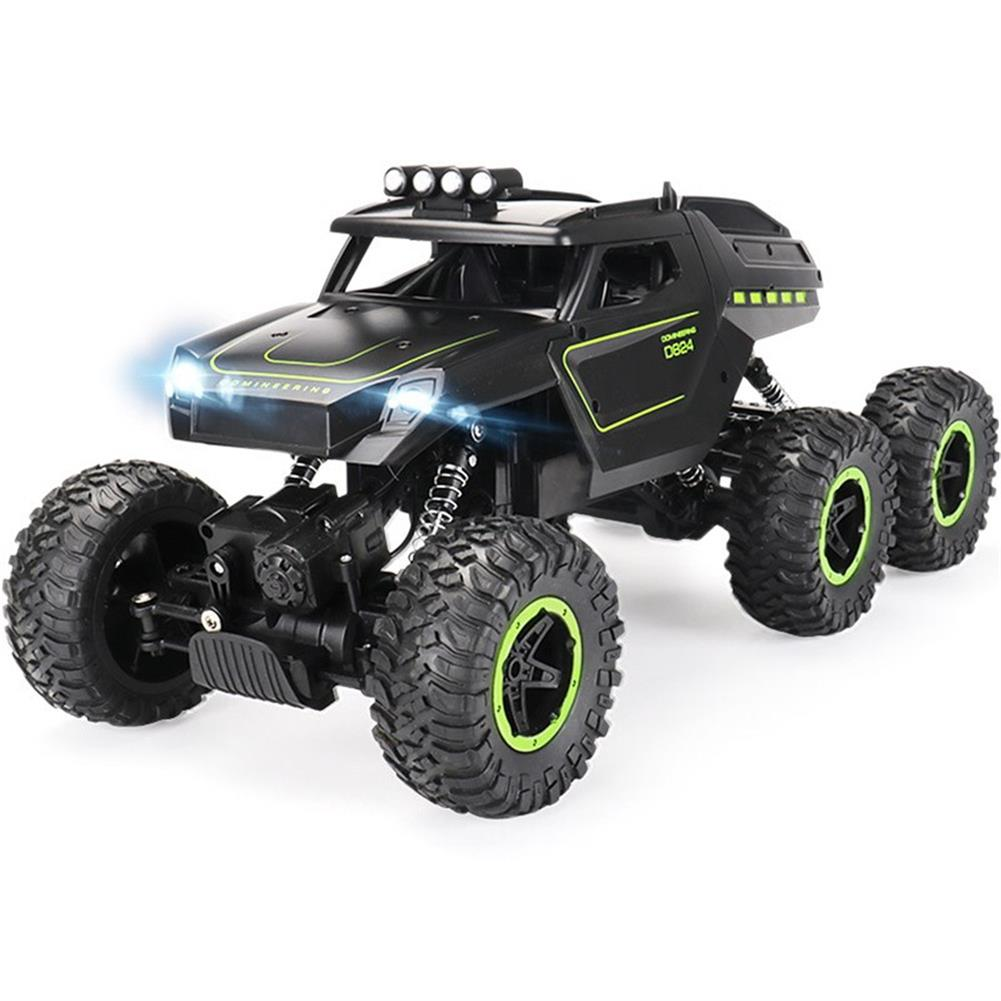 rc-cars JJRC D824 1/12 2.4G 6WD Rc Car Green Color Off-road Climbing Truck Crawler w/ HeadLight RTR Toys RC1417684