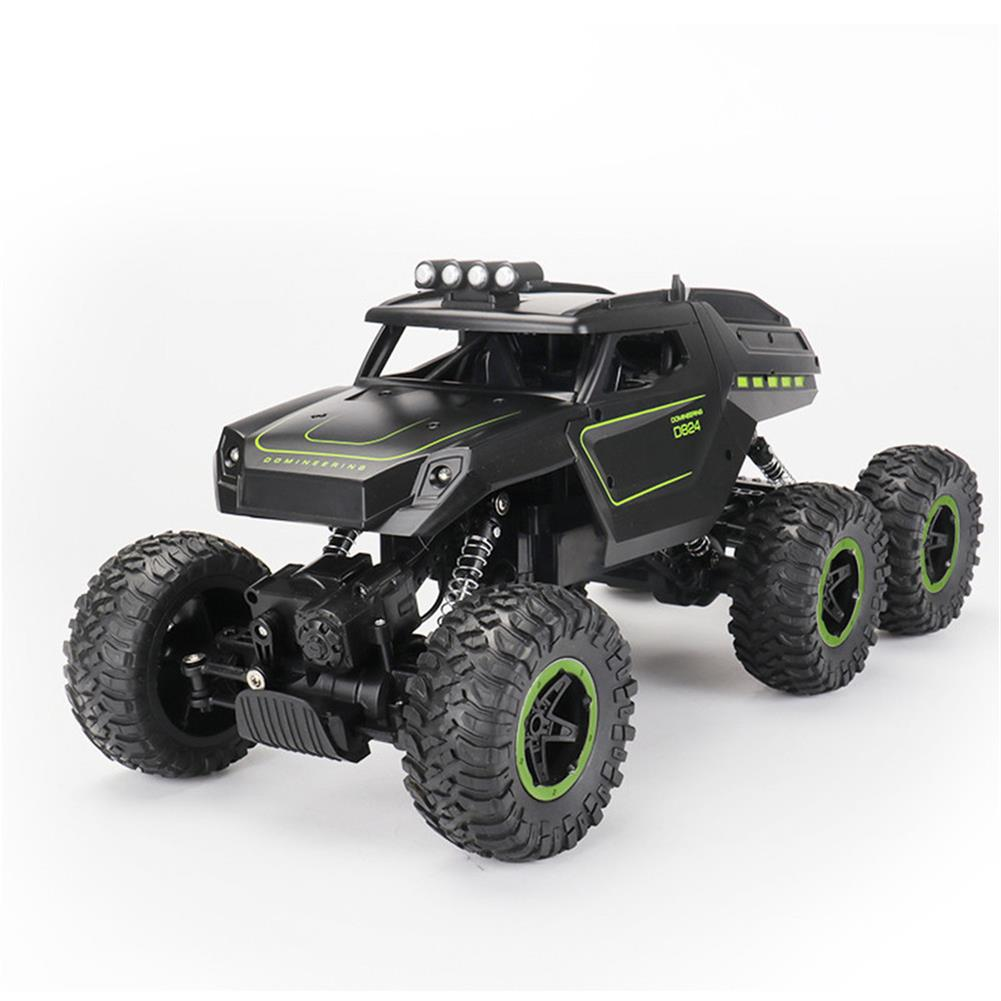 rc-cars JJRC D824 1/12 2.4G 6WD Rc Car Green Color Off-road Climbing Truck Crawler w/ HeadLight RTR Toys RC1417684 1