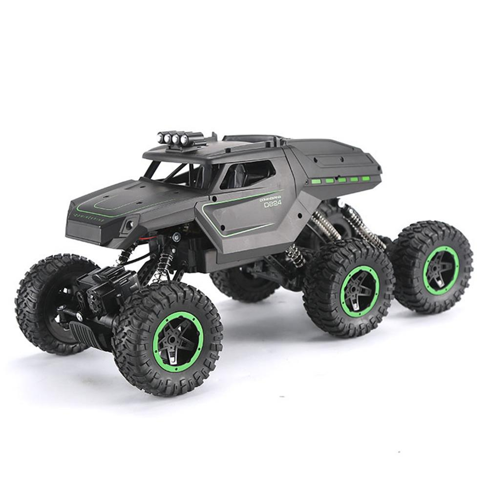 rc-cars JJRC D824 1/12 2.4G 6WD Rc Car Green Color Off-road Climbing Truck Crawler w/ HeadLight RTR Toys RC1417684 2