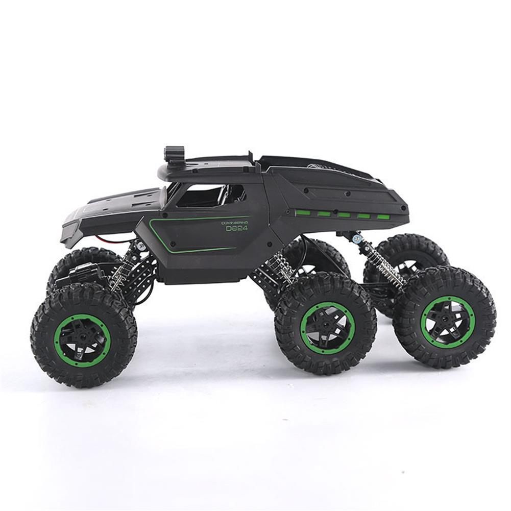 rc-cars JJRC D824 1/12 2.4G 6WD Rc Car Green Color Off-road Climbing Truck Crawler w/ HeadLight RTR Toys RC1417684 3