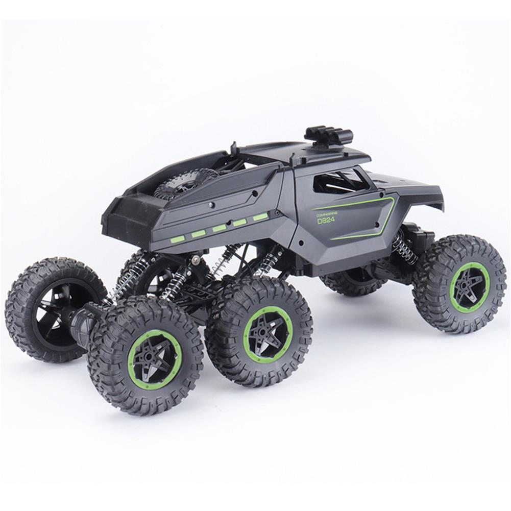 rc-cars JJRC D824 1/12 2.4G 6WD Rc Car Green Color Off-road Climbing Truck Crawler w/ HeadLight RTR Toys RC1417684 4