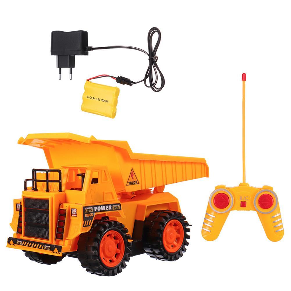 rc-cars Xuezhishan Toys 1011 4WD 5CH Wireless Rc Car Flashing Construction Dump Truck Excavator Bulldozer RC1424244