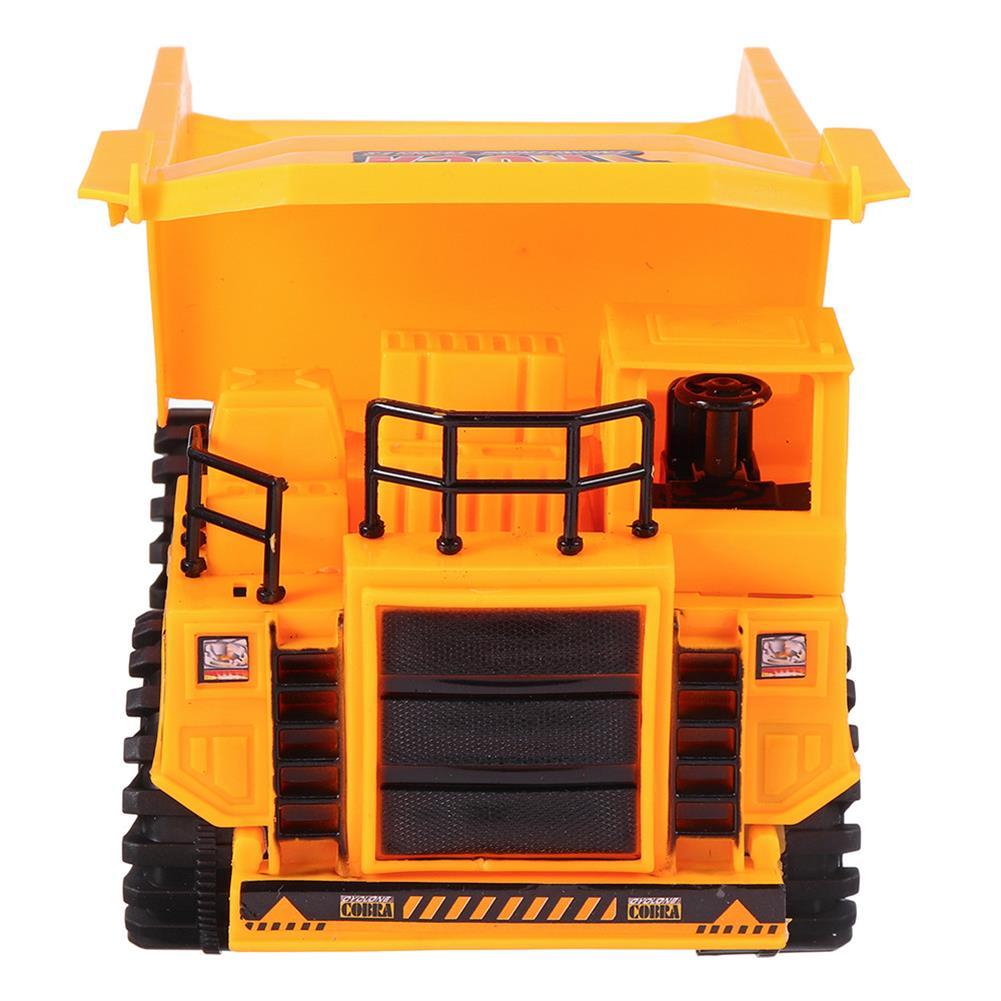 rc-cars Xuezhishan Toys 1011 4WD 5CH Wireless Rc Car Flashing Construction Dump Truck Excavator Bulldozer RC1424244 5