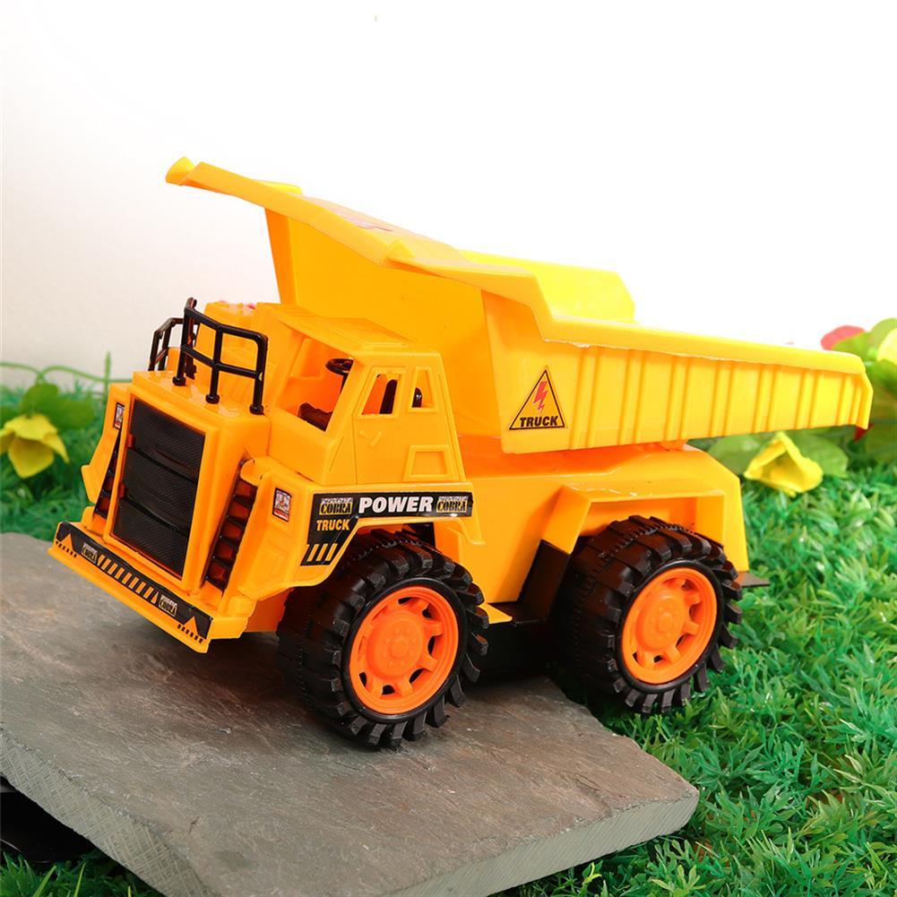 rc-cars Xuezhishan Toys 1011 4WD 5CH Wireless Rc Car Flashing Construction Dump Truck Excavator Bulldozer RC1424244 8