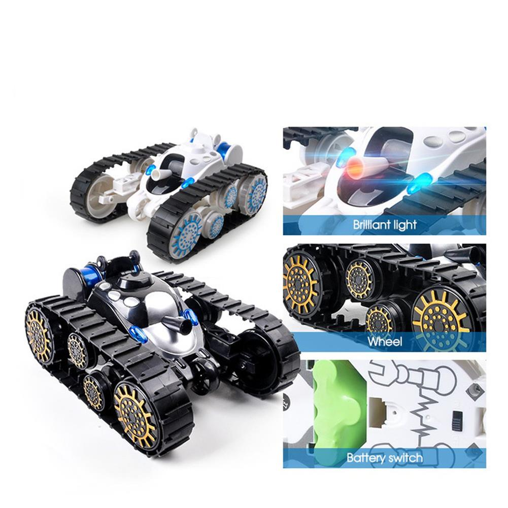 rc-tank Yundi 666-888 Wireless Control Rc Stunt Tank 360  Rotation Car with LED Light Toys RC1425699 6