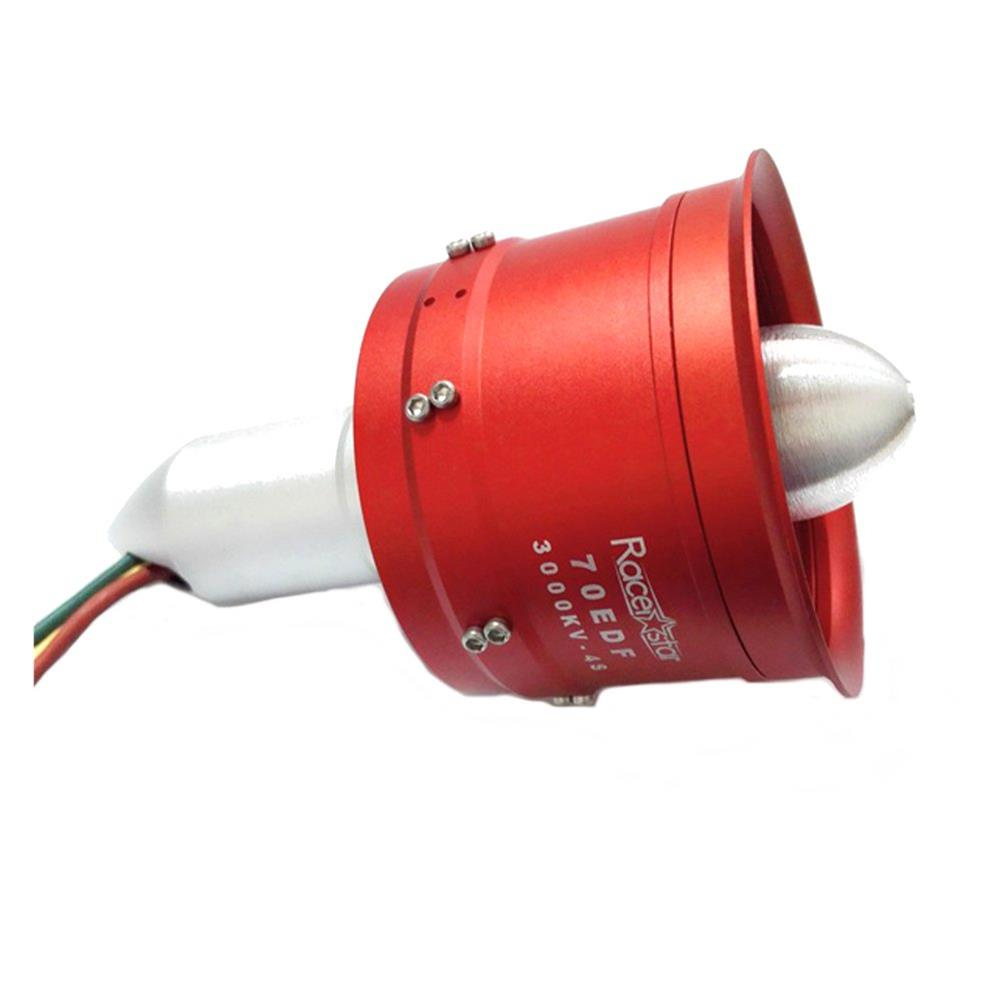 rc-airplane-parts Racerstar 70mm 10 Blades EDF Unit With B2970 KV3000 Brushless Inrunner Motor 1340W 4S For RC Airplane RC1425794 3