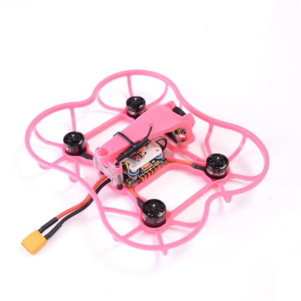 fpv-racing-drones Diatone 2019 GT R239 R90 Pink Edition 2 Inch 3S FPV Racing RC Drone PNP w/ F4 OSD 25A RunCam Micro Swift TX200U RC1426495 2