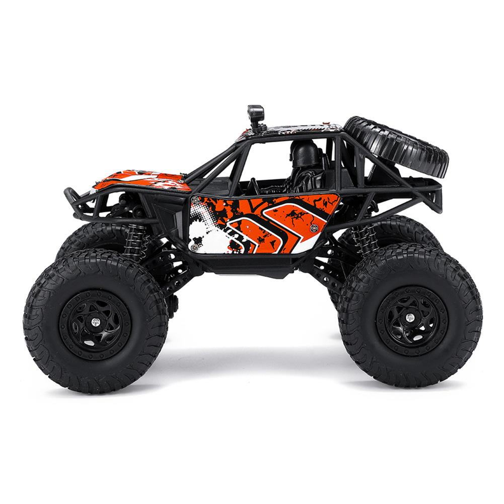 rc-cars 1/22 2.4G 4WD Four Wheel Drive Big Foot Off-Road Vehicle RC Car Crawler Buggy With 2 Battery RC1434394 2