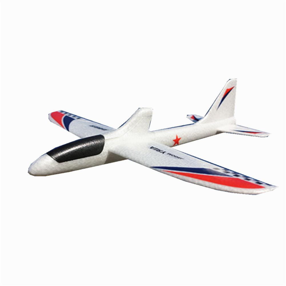 rc-airplanes 360mm Wingspan EPP LED Electric RC Airplane Hand Throwing Glider Kids Toys RC1438679