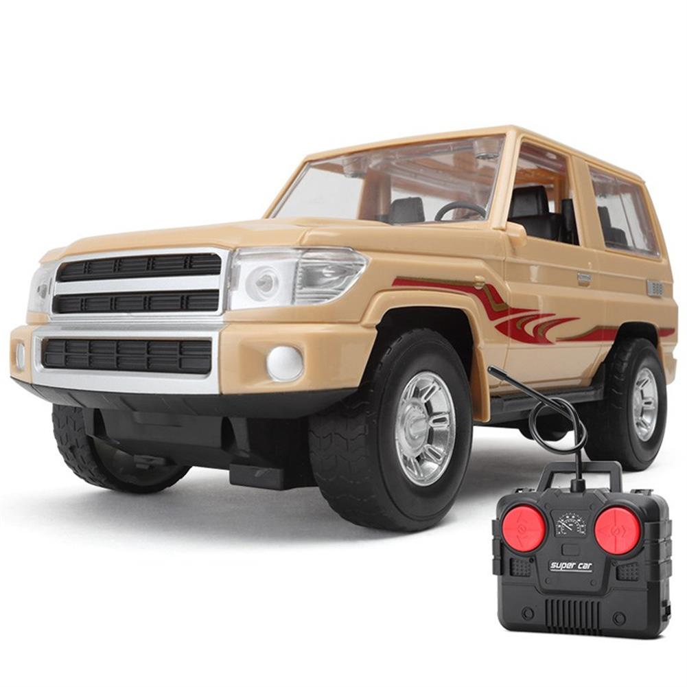 rc-cars 830 1/16 27MHZ Simulation Rc Car Off-Road Vehicle RTR w/ LED Light Toys RC1439205 2