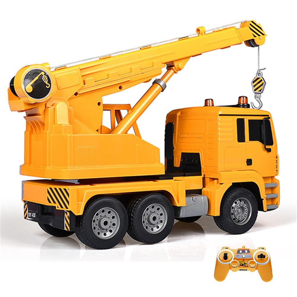 rc-cars Double E E516-003 1/20 RC Car Engineering Crane With Music Light RC1442321 1