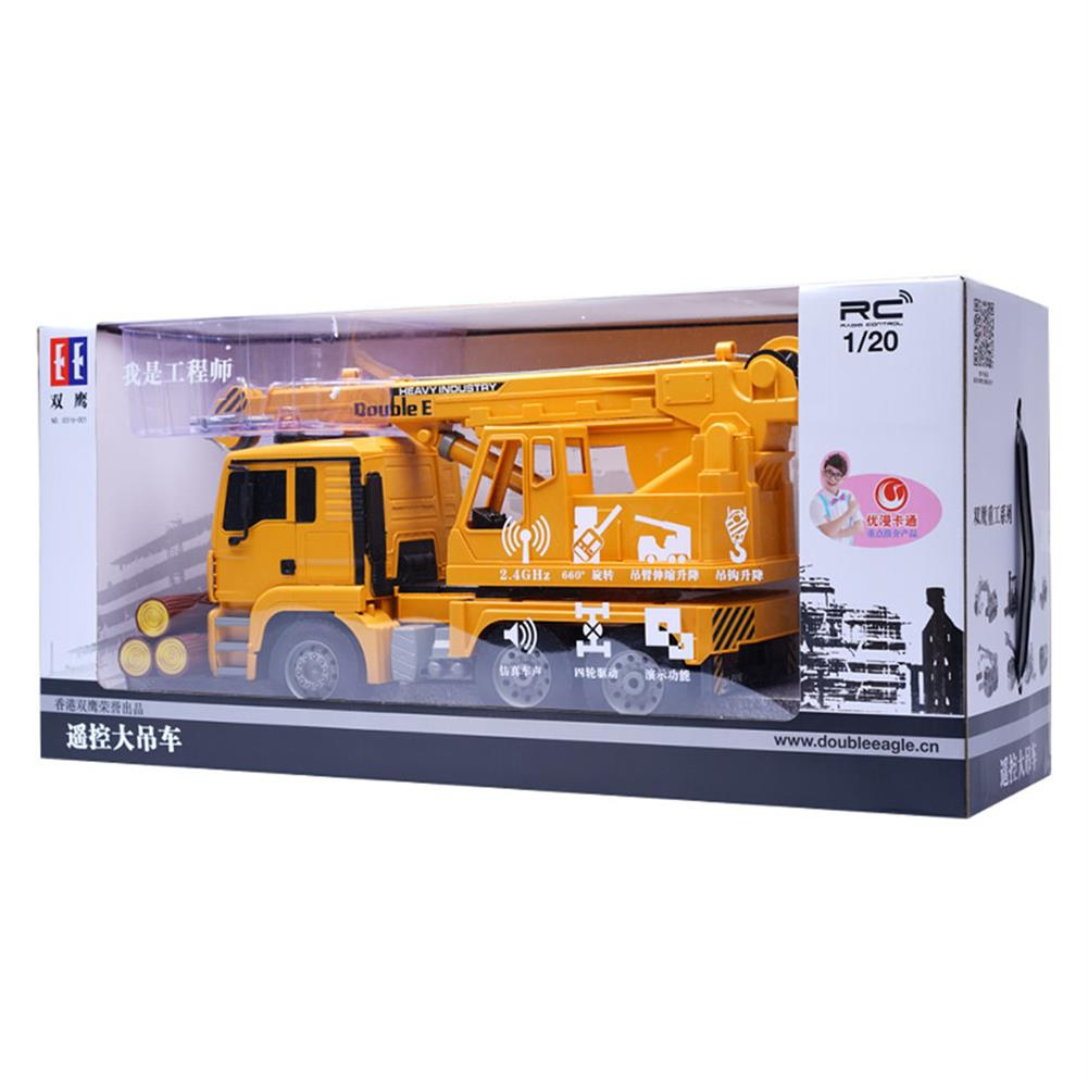rc-cars Double E E516-003 1/20 RC Car Engineering Crane With Music Light RC1442321 3