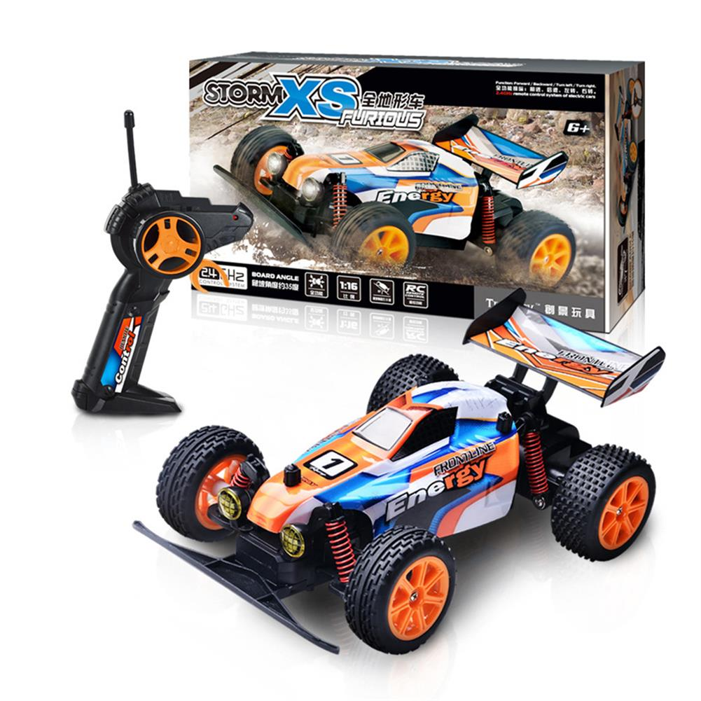 rc-cars 1/16 2.4G RC Car Crawler 20km/h With Head Light Proportional Control Toy PVC RC1443578 1