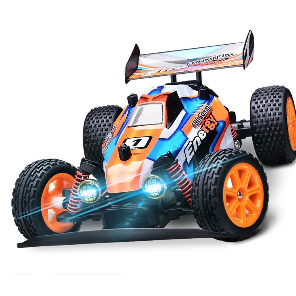 rc-cars 1/16 2.4G RC Car Crawler 20km/h With Head Light Proportional Control Toy PVC RC1443578 2