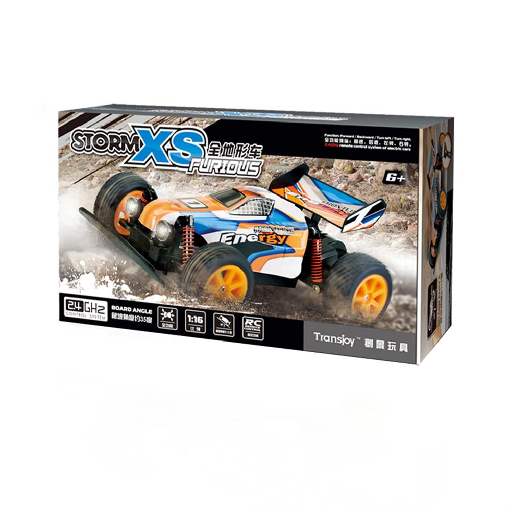 rc-cars 1/16 2.4G RC Car Crawler 20km/h With Head Light Proportional Control Toy PVC RC1443578 3