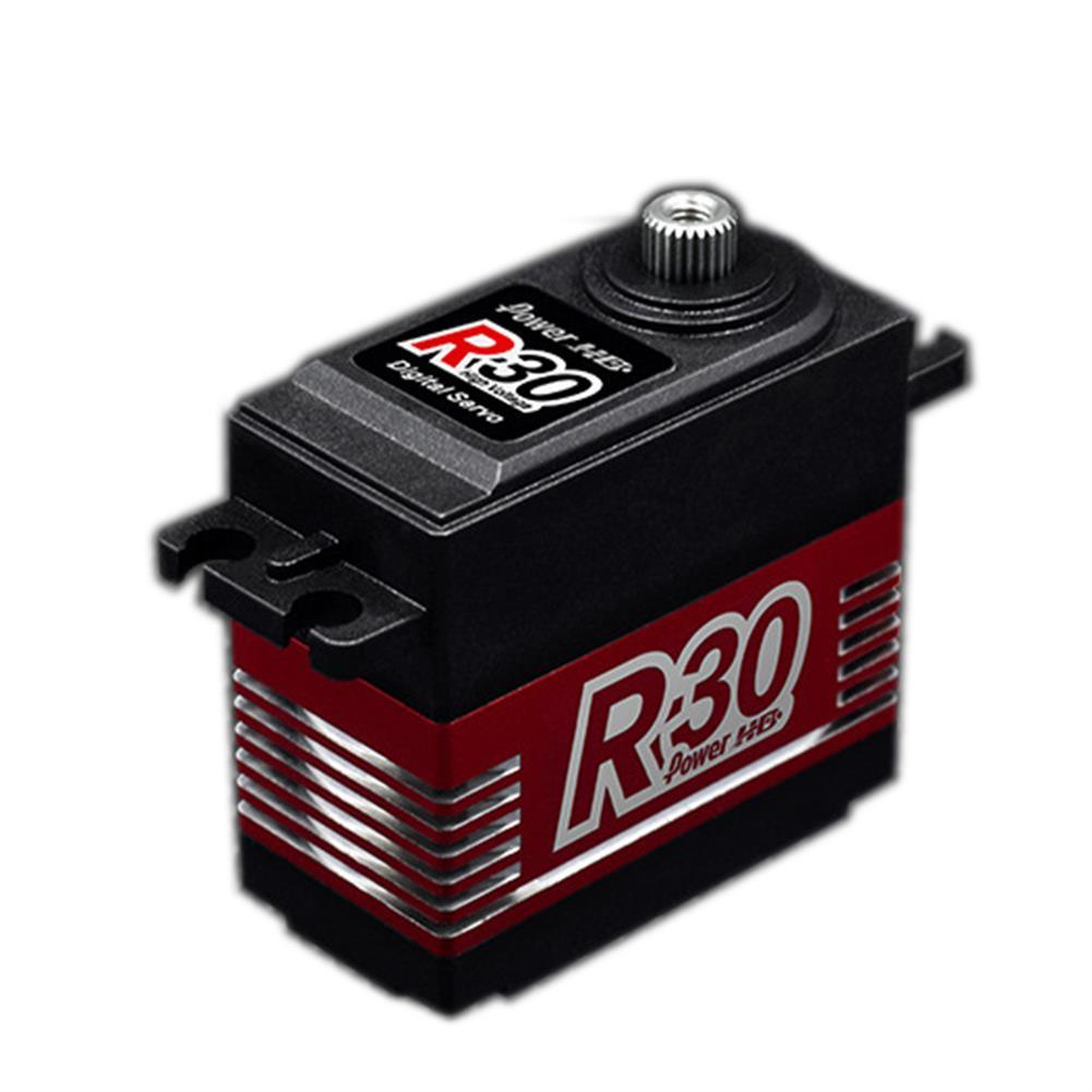 rc-servos Power HD R30 Digital Servo Coreless 30KG Large Torque 90 180 270 360 Rotation For RC Robot RC Robot Arm RC1454013
