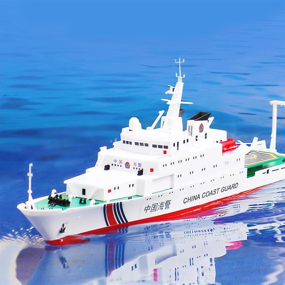 rc-boat 1/250 39cm 2.4G China Sea Patrol 3383 RC Boat 25km/h Double Motor Children Toy Model RC1455158