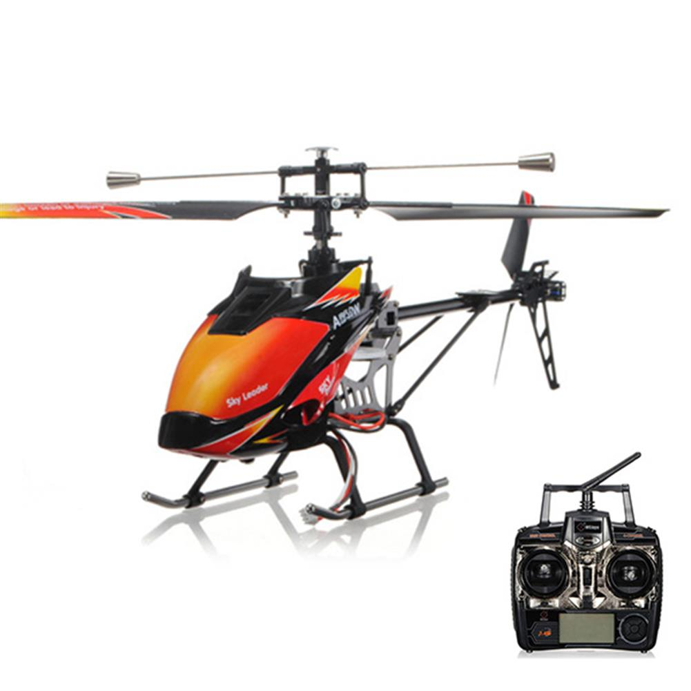 rc-helicopter WLtoys V913 2.4G 4CH Single Blade RC Helicopter LCD Controller RC64972