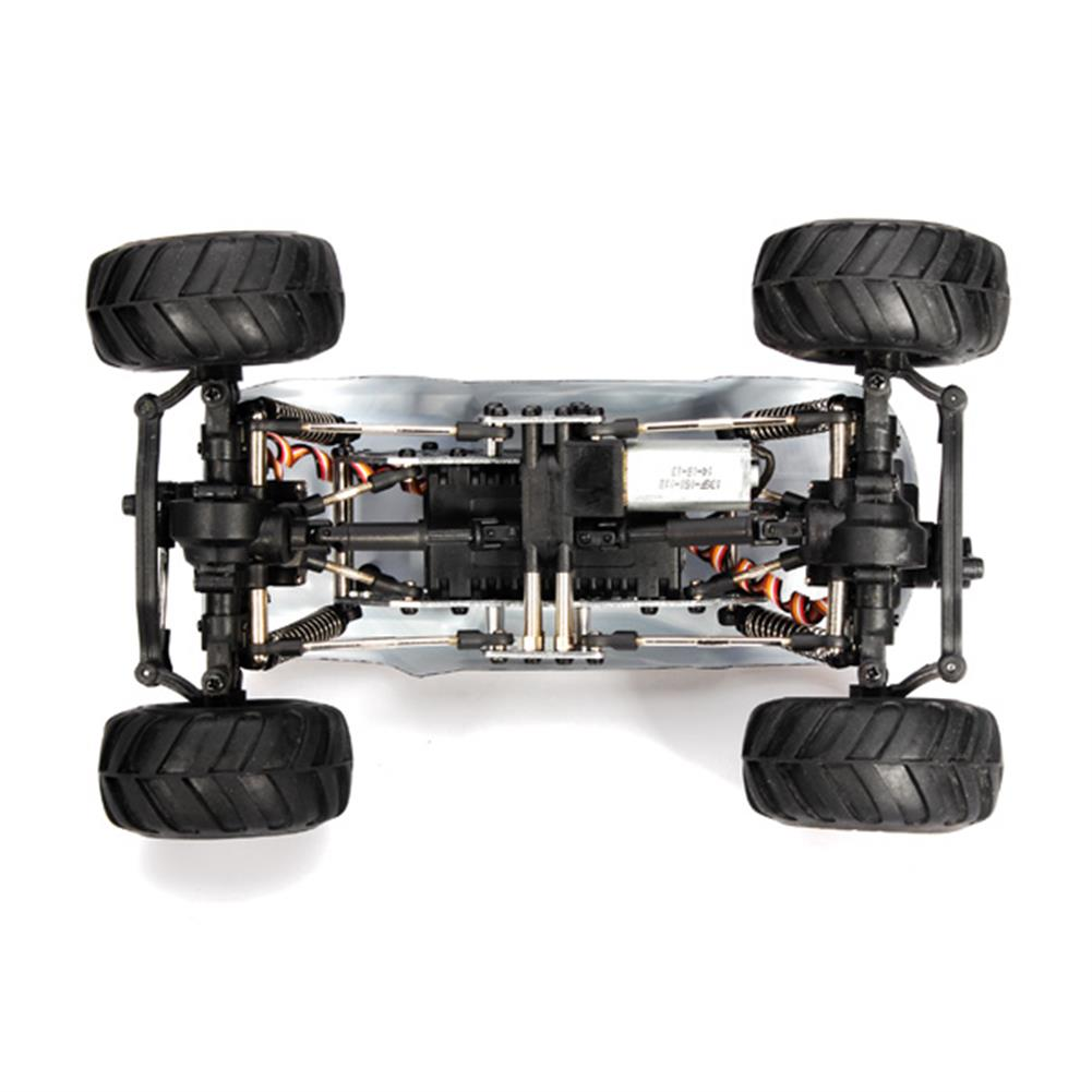 rc-cars HBX 2098B 1/24 4WD Mini RC Climber/Crawler Metal Chassis RC932834 5