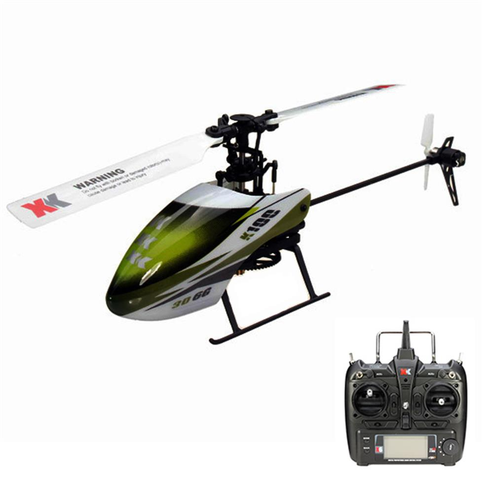 rc-helicopters XK K100 Falcom 6CH Flybarless 3D6G System RC Helicopter RTF RC974728