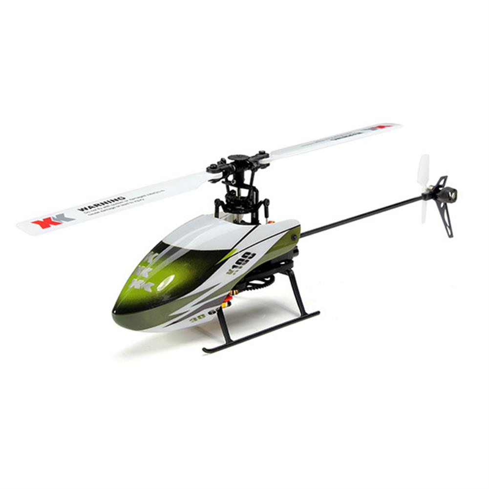 rc-helicopters XK K100 Falcom 6CH Flybarless 3D6G System RC Helicopter RTF RC974728 2