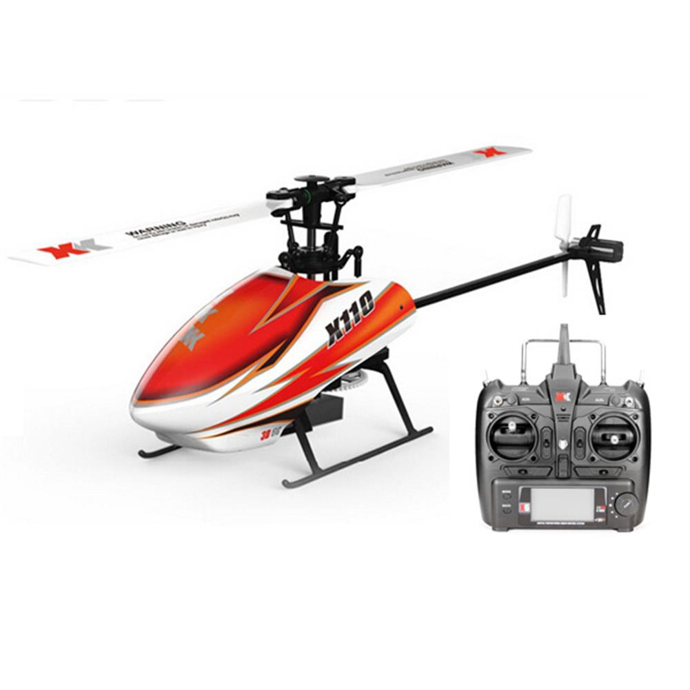 rc-helicopters XK K110 Blast 6CH Brushless 3D6G System RC Helicopter RTF RC974729