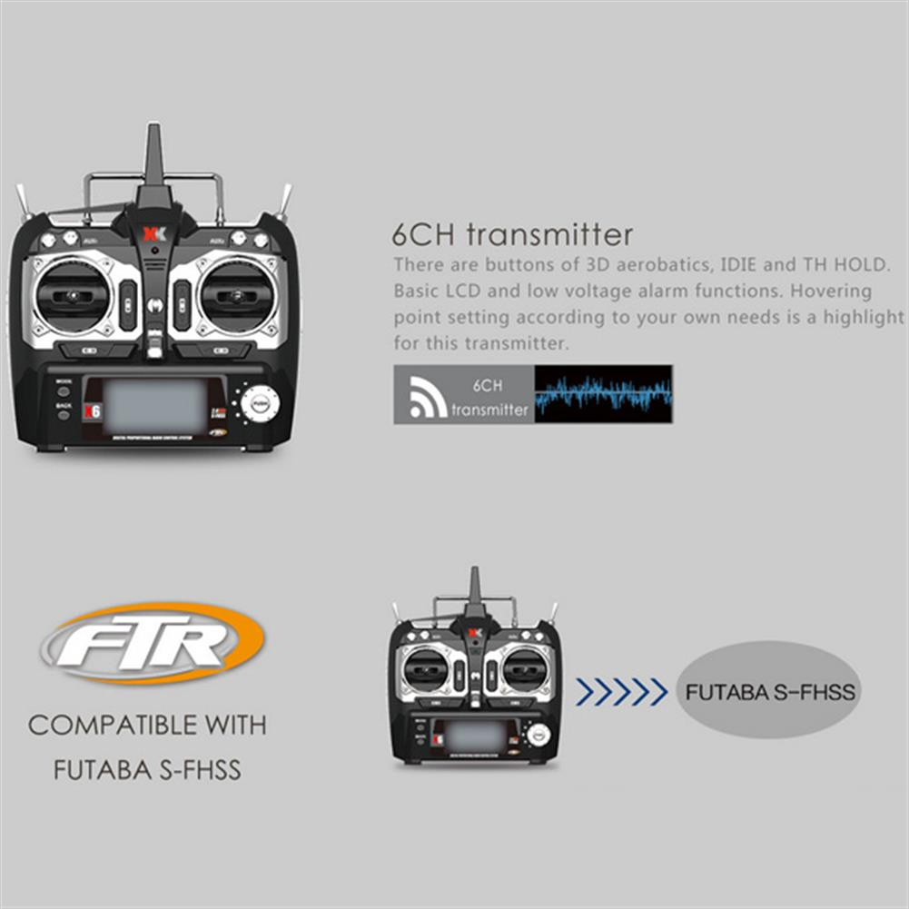 rc-helicopters XK K110 Blast 6CH Brushless 3D6G System RC Helicopter RTF RC974729 9