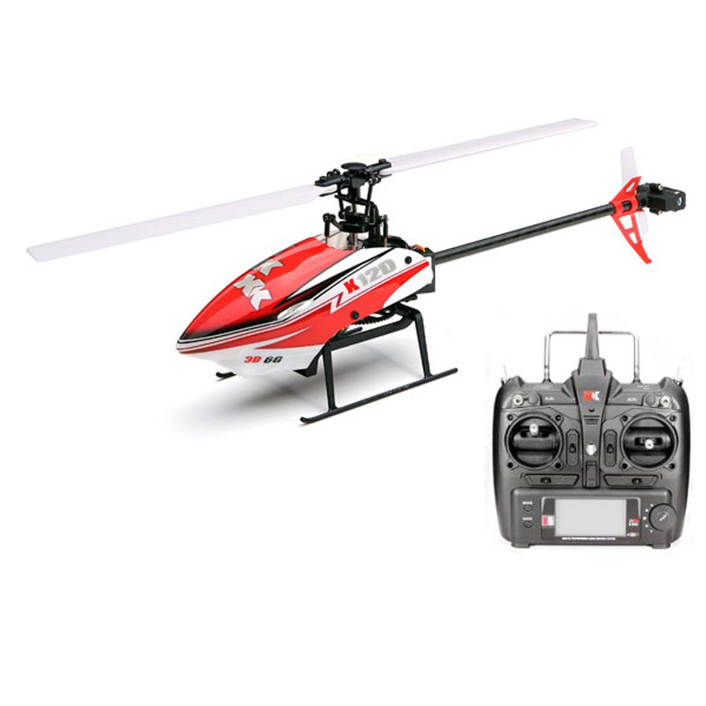 rc-helicopters XK K120 Shuttle 6CH Brushless 3D6G System RC Helicopter RTF RC974730