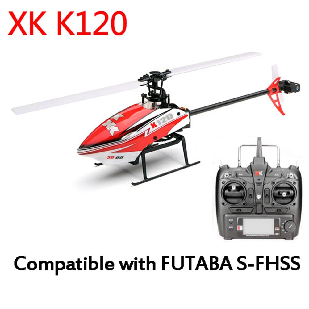 rc-helicopters XK K120 Shuttle 6CH Brushless 3D6G System RC Helicopter RTF RC974730 1
