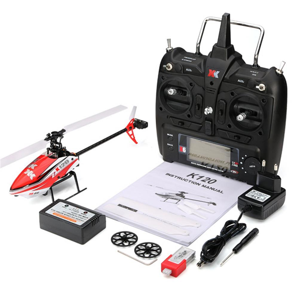 rc-helicopters XK K120 Shuttle 6CH Brushless 3D6G System RC Helicopter RTF RC974730 9