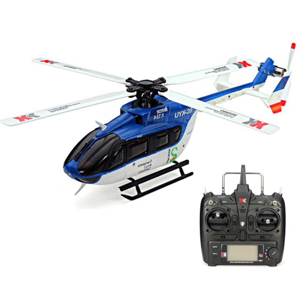 rc-helicopter XK K124 6CH Brushless EC145 3D6G System RC Helicopter RTF RC974731