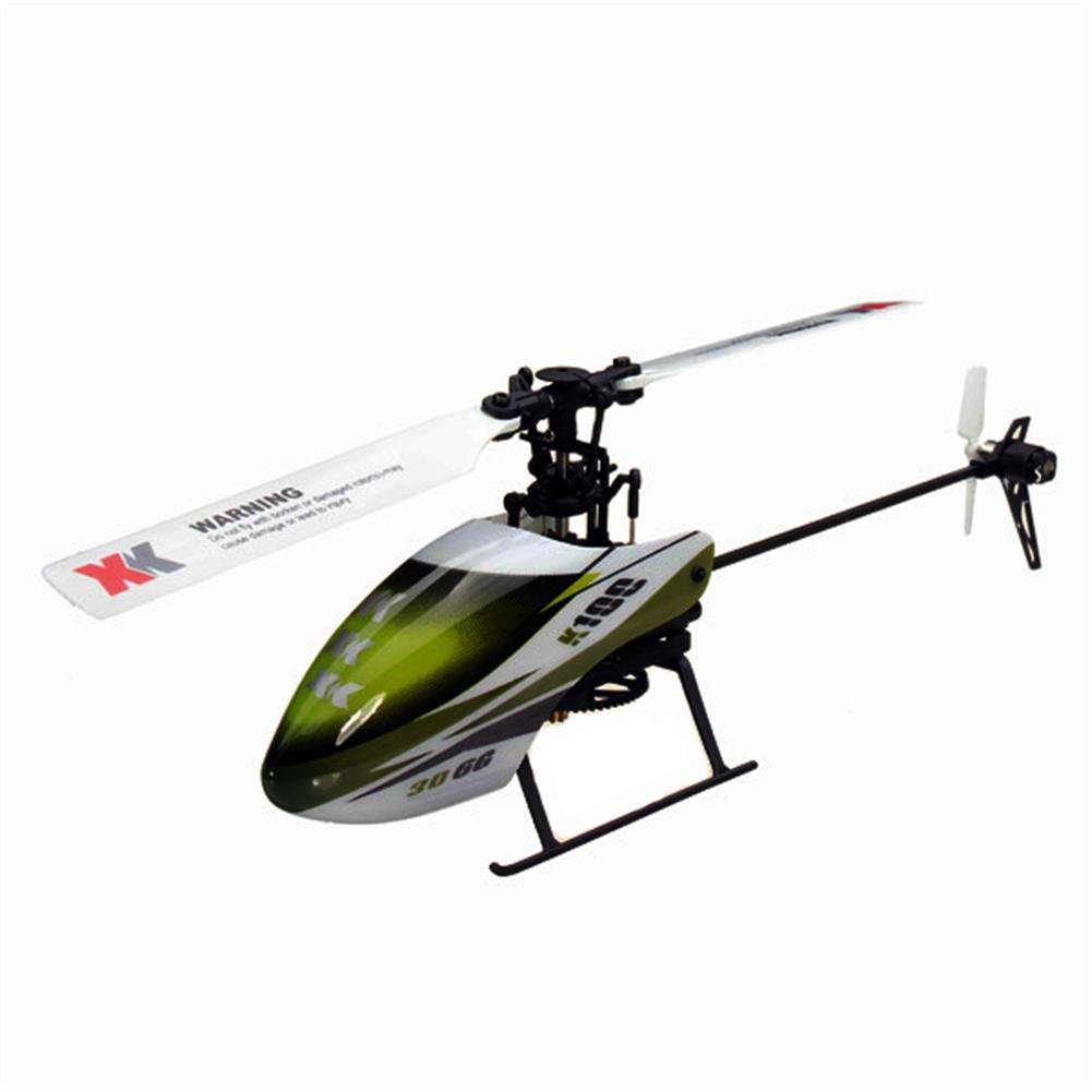 rc-helicopters XK K100 Falcom 6CH Flybarless 3D6G System RC Helicopter BNF RC976340