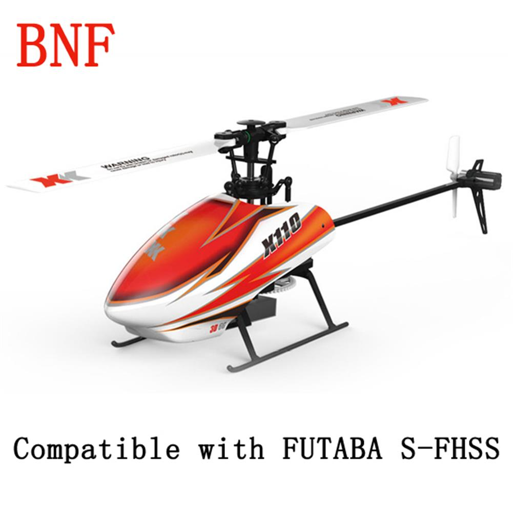 rc-helicopters XK K110 Blast 6CH Brushless 3D6G System RC Helicopter BNF RC976341 1