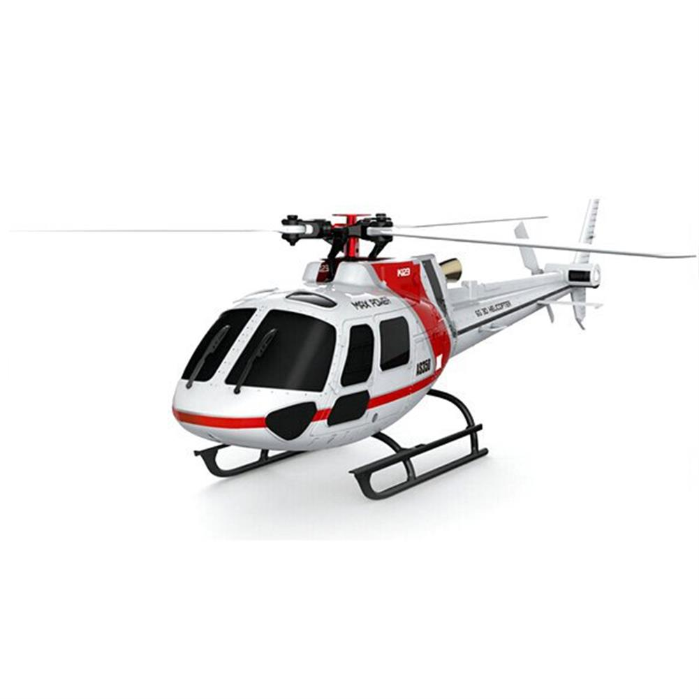 rc-helicopters XK K123 6CH Brushless AS350 Scale 3D6G System RC Helicopter BNF RC976343