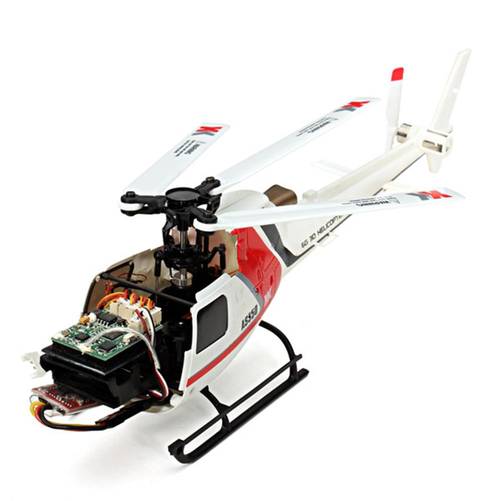 rc-helicopters XK K123 6CH Brushless AS350 Scale 3D6G System RC Helicopter BNF RC976343 6