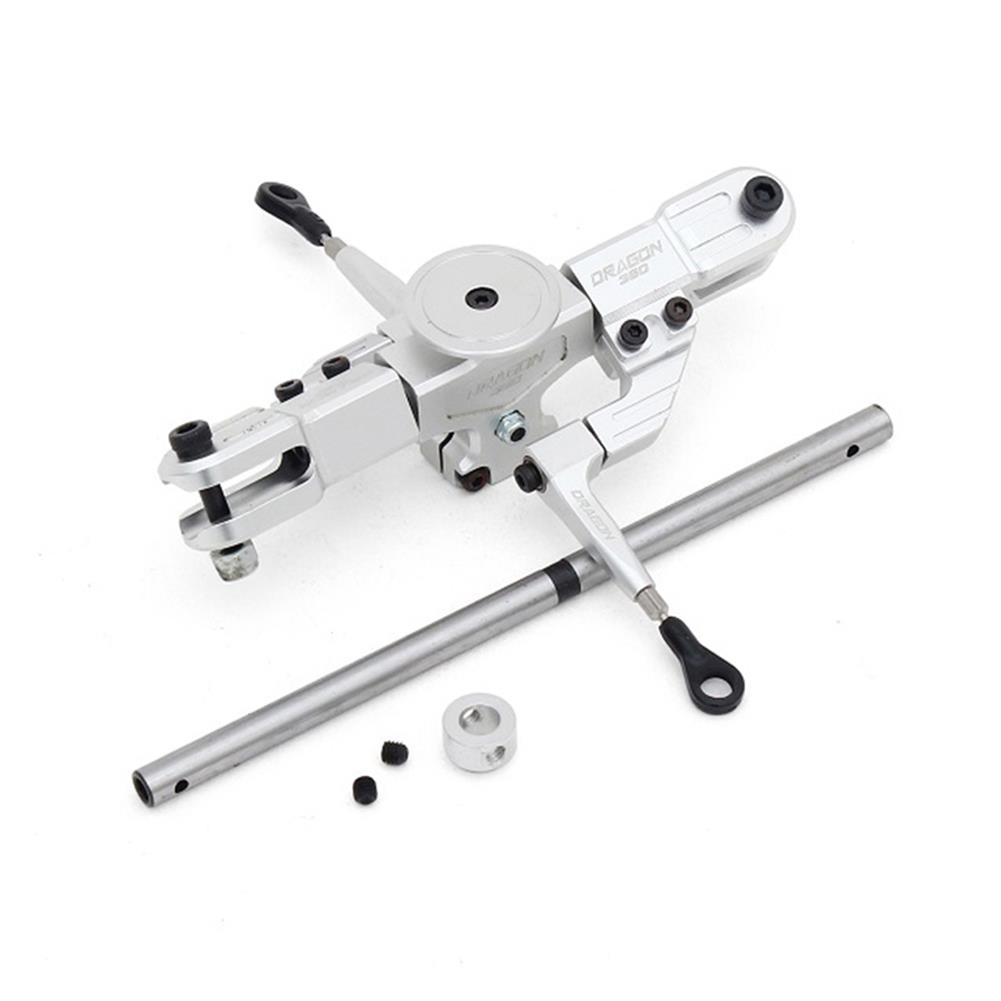 rc-helicopter-parts ALZRC Devil RIGID SDC DFC Main Rotor Head Set Silver For 450 465 480 Helicopter RC1291014