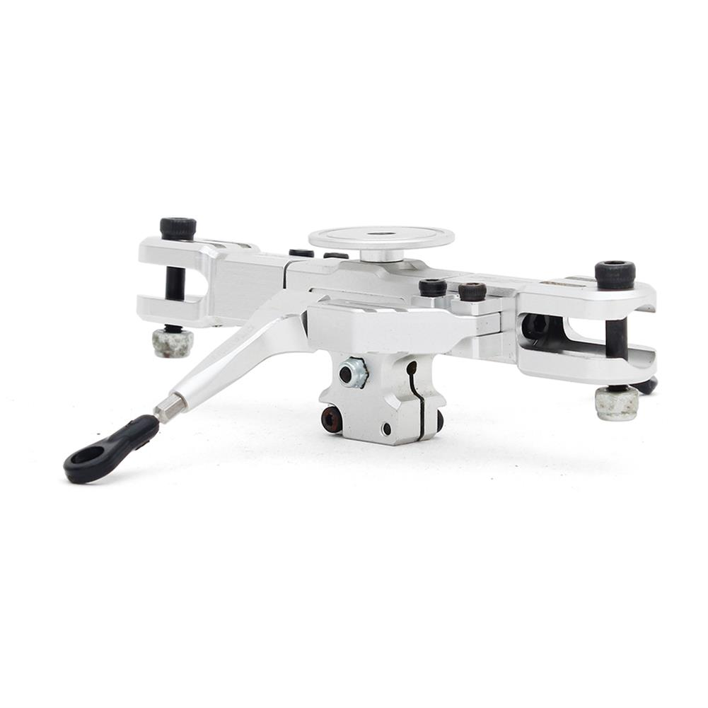 rc-helicopter-parts ALZRC Devil RIGID SDC DFC Main Rotor Head Set Silver For 450 465 480 Helicopter RC1291014 1