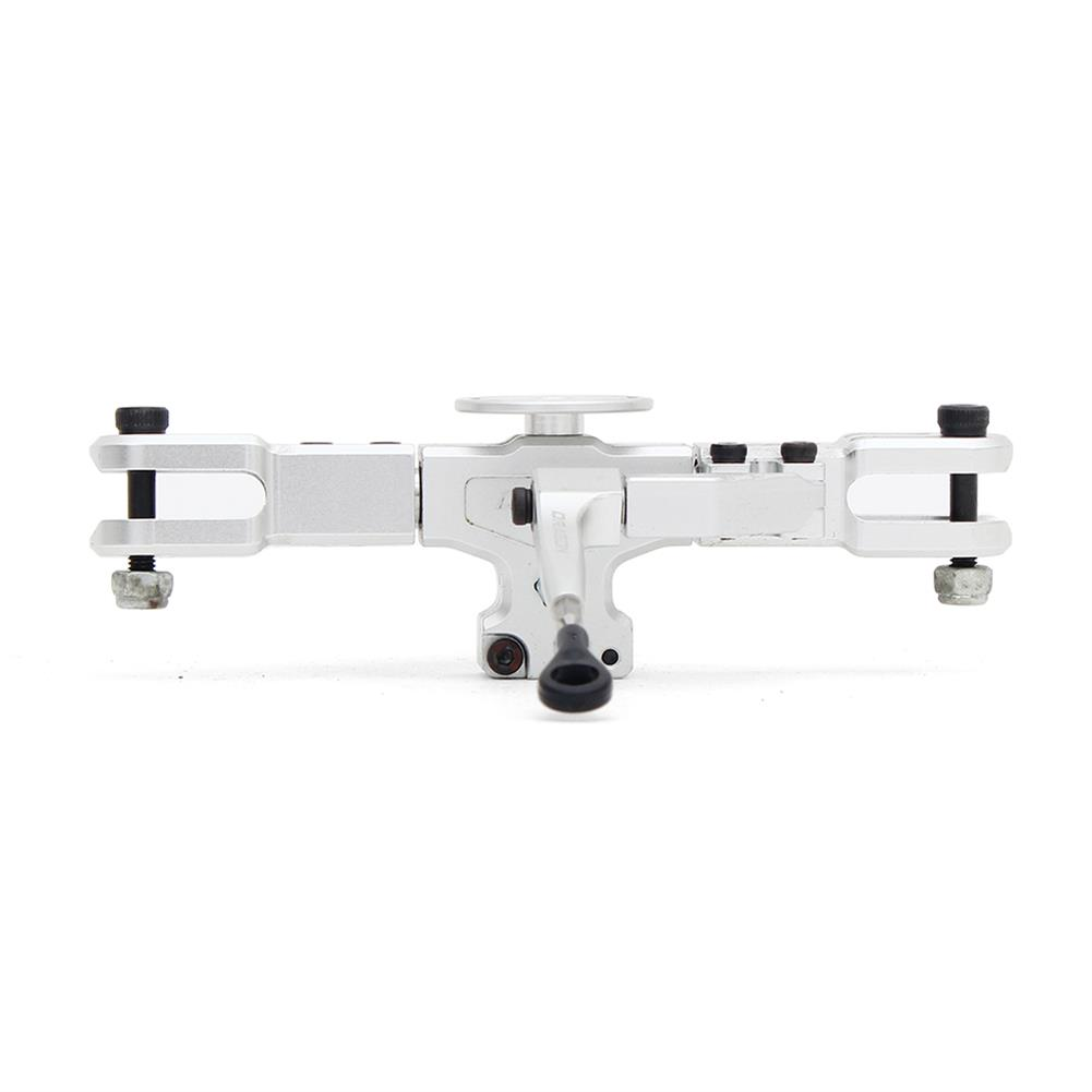 rc-helicopter-parts ALZRC Devil RIGID SDC DFC Main Rotor Head Set Silver For 450 465 480 Helicopter RC1291014 2