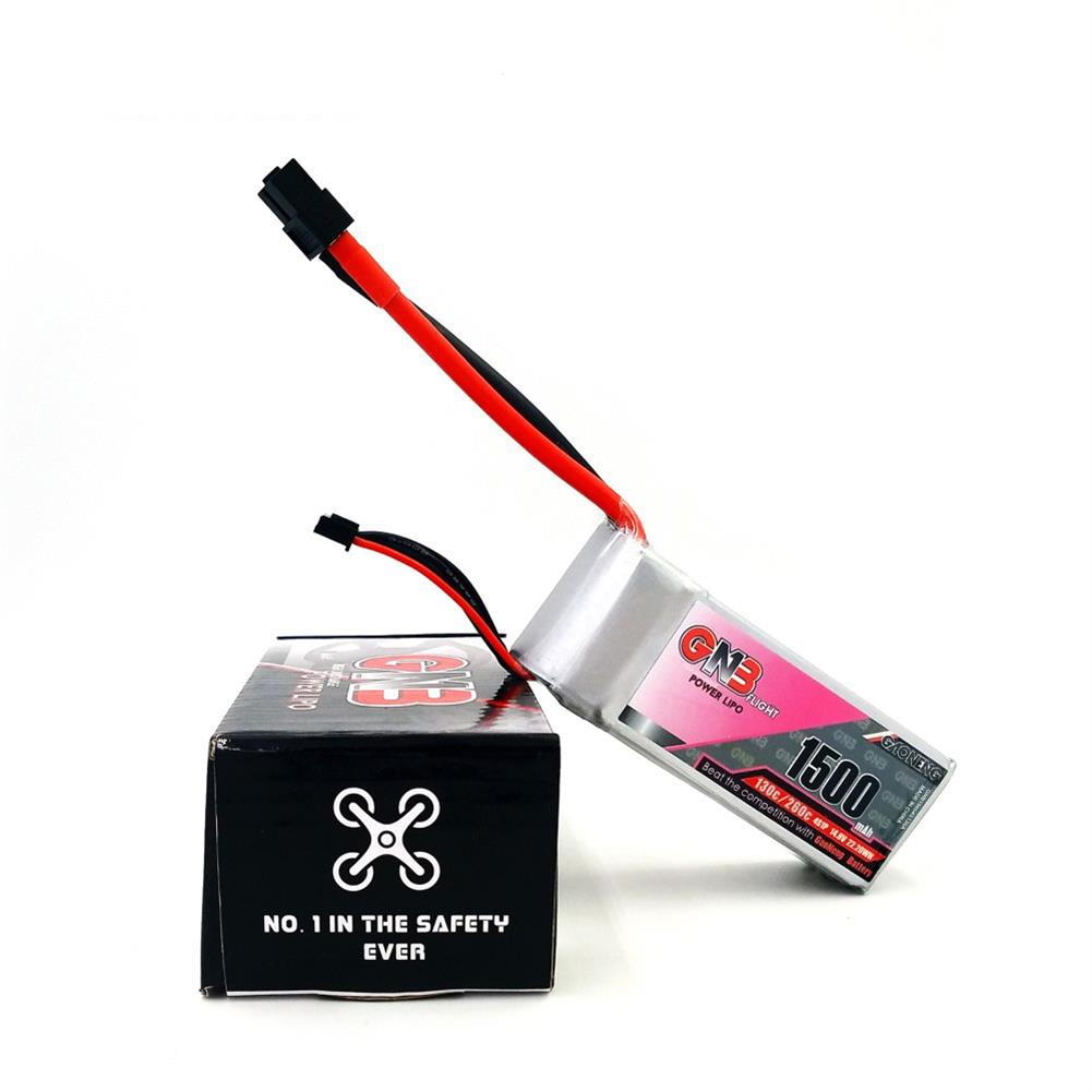 battery-charger Gaoneng GNB 14.8V 1500MAH 130C/260C 4S Lipo Battery XT60 Plug For RC Drone RC1291016 3